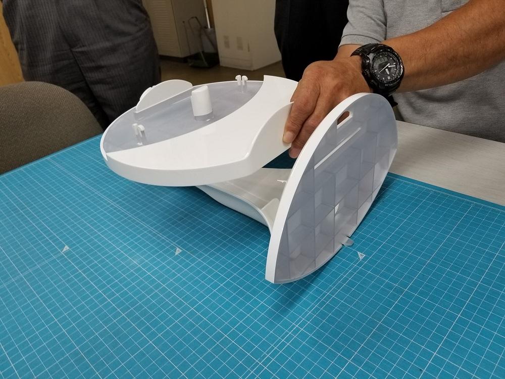 3Dプリンター+塗装の試作
