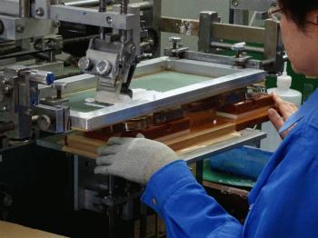 シルク印刷 旭電機化成