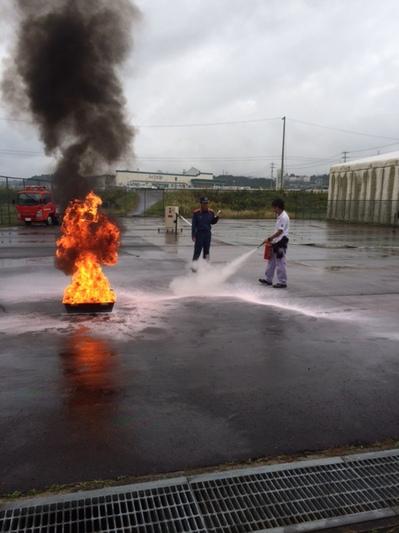 旭電機化成 消防訓練