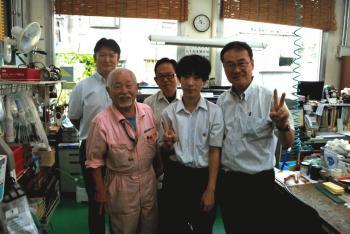 早野先生と生徒さん